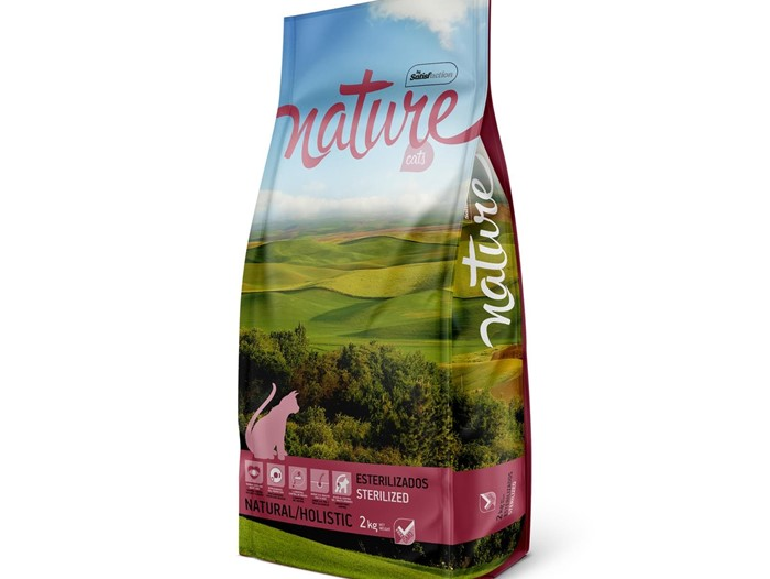 NATURE CAT ESTERILIZADOS 2 KG