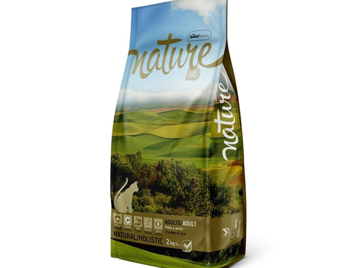 NATURE CAT POLLO Y ARROZ 2KG